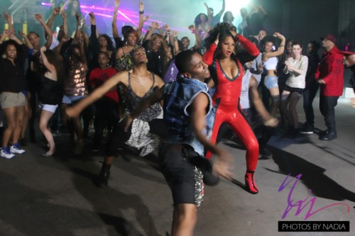 Hot Shots: Trina Braxton Shoots Party Or Go Home Video
