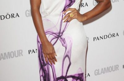 Hot Shots: Alexandra Burke Beams At Glamour Awards