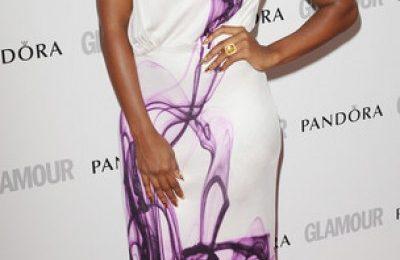 Hot Shots: Alexandra Burke Beams At Glamour Awards