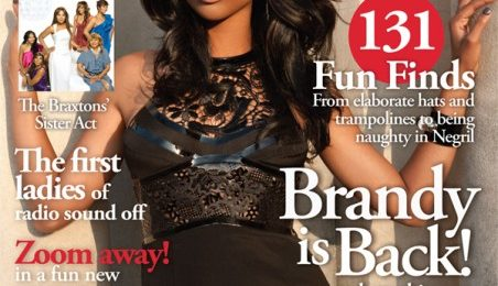 Hot Shots: Brandy Covers 'Upscale'