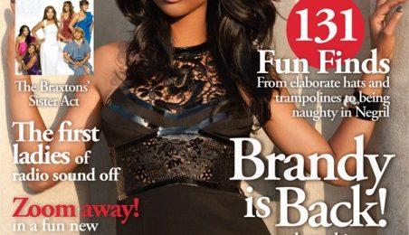 Hot Shots: Brandy Covers 'Upscale'