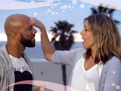 Colbie Caillat Common Favorite Song Music video 1 600x450 New Video: Colbie Caillat   Favorite Song (Feat. Common)
