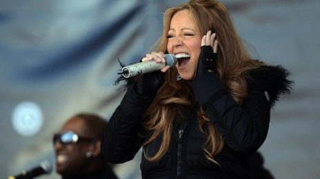 Mariah Carey Mimes 'Without You' On 'Top Of The Mountain'