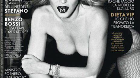 Hot Shots:  Madonna Covers Vanity Fair Italia, Drops 'MDNA' Tour Trailer