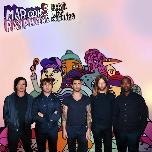 Maroon 5 Payphone Wiz Khalifa Single Cover New Video: Maroon 5   Payphone (Feat. Wiz Khalifa)