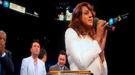 Weigh In: Marsha Ambrosius Moves Mayweather/Cotto Match With National Anthem