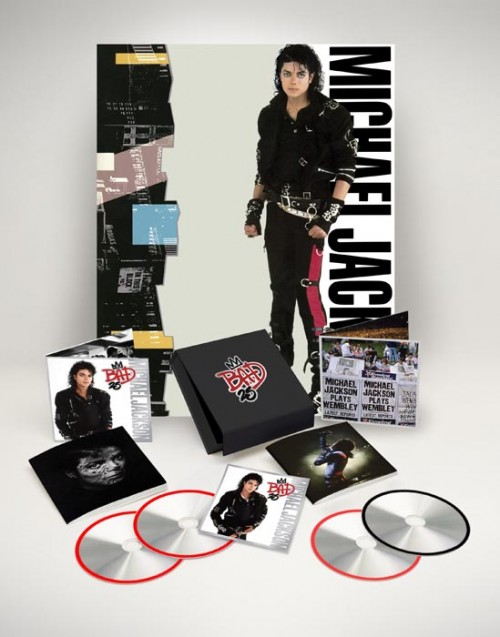 bad 25 pack mj e1337611030932 Michael Jacksons Bad Set For 25th Anniversary Re Release (With Tour DVD)