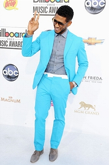 bbma11usher Billboard Music Awards 2012: Red Carpet Arrivals