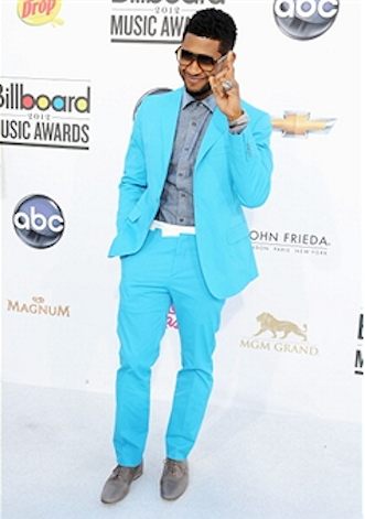 bbma11usher2 Billboard Music Awards 2012: Red Carpet Arrivals