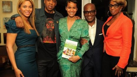 Hot Shots: Beyonce, Jay-Z, Mary J & LA Reid Pose At Book Launch