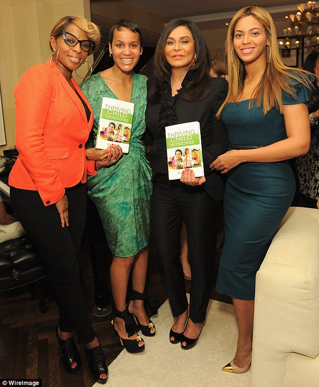 beyonce mary tina Hot Shots: Beyonce, Jay Z, Mary J & LA Reid Pose At Book Launch