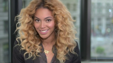Watch: Beyonce Reacts To Being Honored For Her Writing