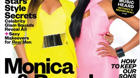 Behind the Scenes:  Brandy & Monica's Fierce 'Ebony' Shoot