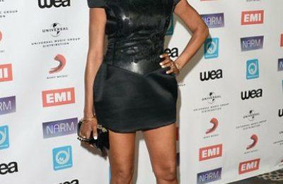 Hot Shots: Brandy Debuts New 'Do At NARM Biz Awards