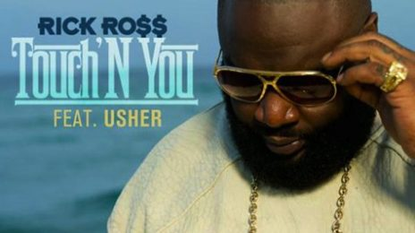 Watch:  Rick Ross & Usher Tease 'Touchin' You' Behind the Scenes