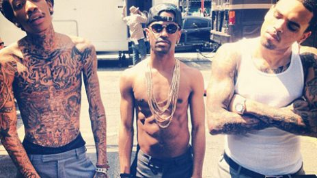 Hot Shots: Chris Brown, Big Sean, & Wiz Khalifa Strip Off For 'Till I Die' Video