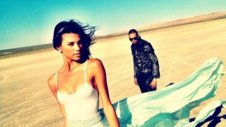 Hot Shots: Chris Brown Shoots 'Don't Wake Me Up' Video
