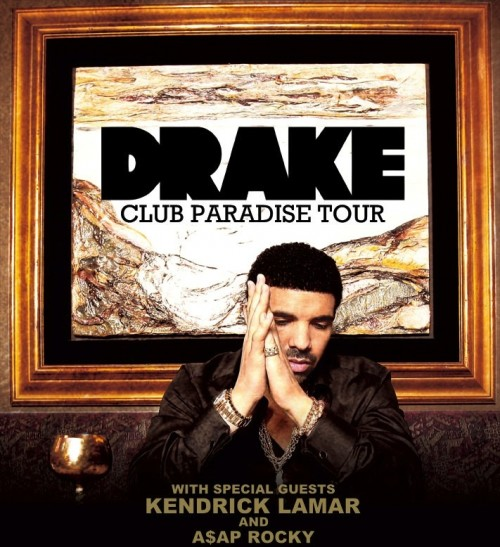 Competition: Win Tickets To See Drakes Club Paradise Tour (US Leg)!