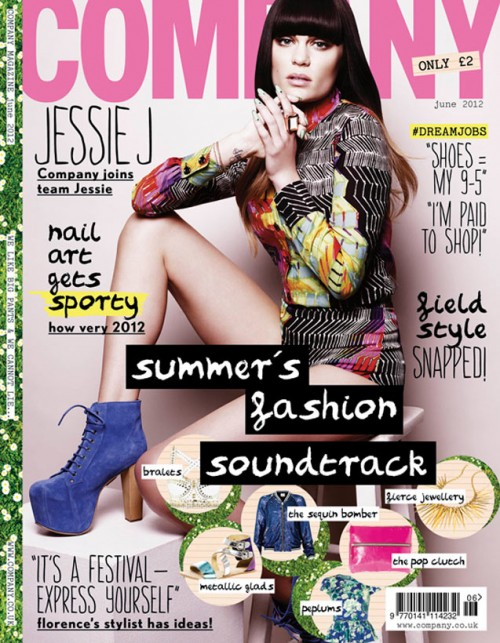 jessie j company e1336930196537 Hot Shot: Jessie J Beams Bold For Company