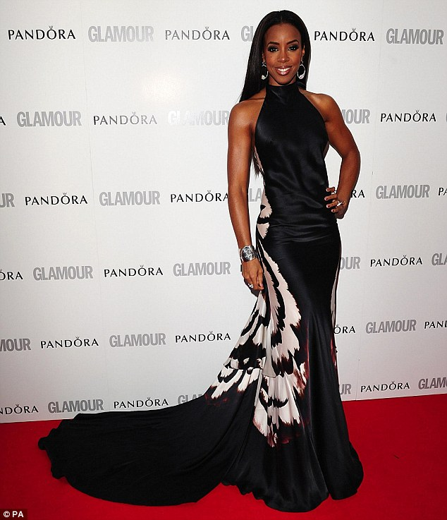 kelly rowland glamour Hot Shots: Kelly Rowland Steals Show At Glamour Awards
