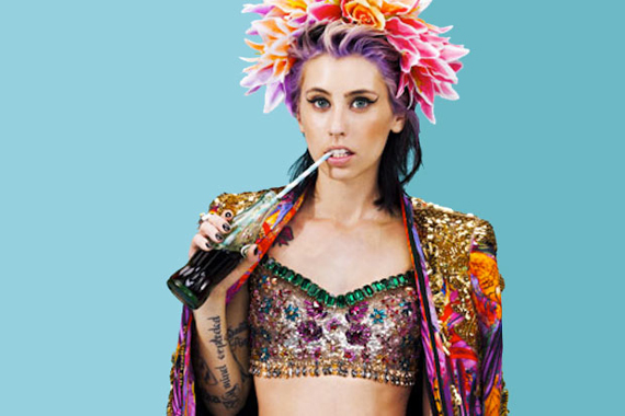 kreayshawn that grape juice New Song: Kreayshawn   Breakfast (Ft 2 Chainz)