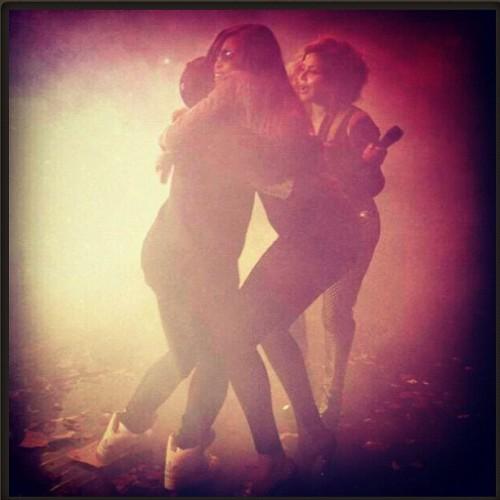 lil kim missy eve e1337415530309 Unity: Lil Kim, Missy Elliott & Eve Storm NYC Stage