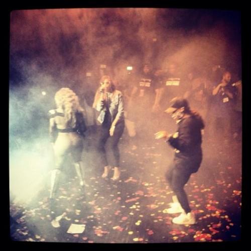 lil kim missy eve nyc e1337415633756 Unity: Lil Kim, Missy Elliott & Eve Storm NYC Stage