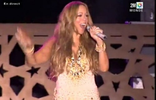 mariah morocco e1338081967515 Performances: Mariah Carey Marvels In Morocco