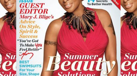 Hot Shot: Mary J. Blige Glows Regal Red For 'ESSENCE'