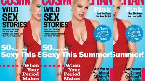 Pink Talks Music & Motherhood With Cosmopolitan
