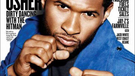 Hot Shot: Usher Beams Bold On Billboard Magazine