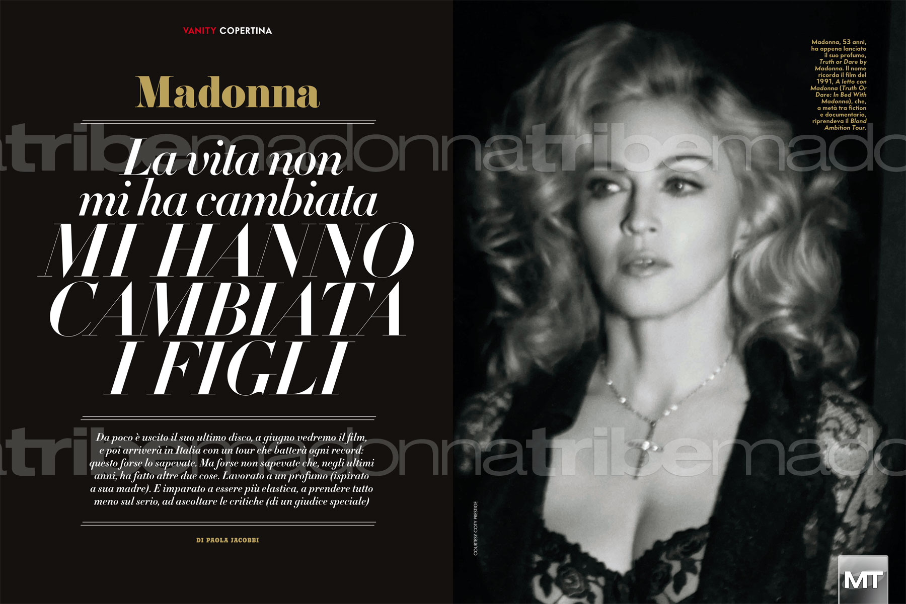 vanityfairitalia 003 Hot Shots:  Madonna Covers Vanity Fair Italia, Drops MDNA Tour Trailer