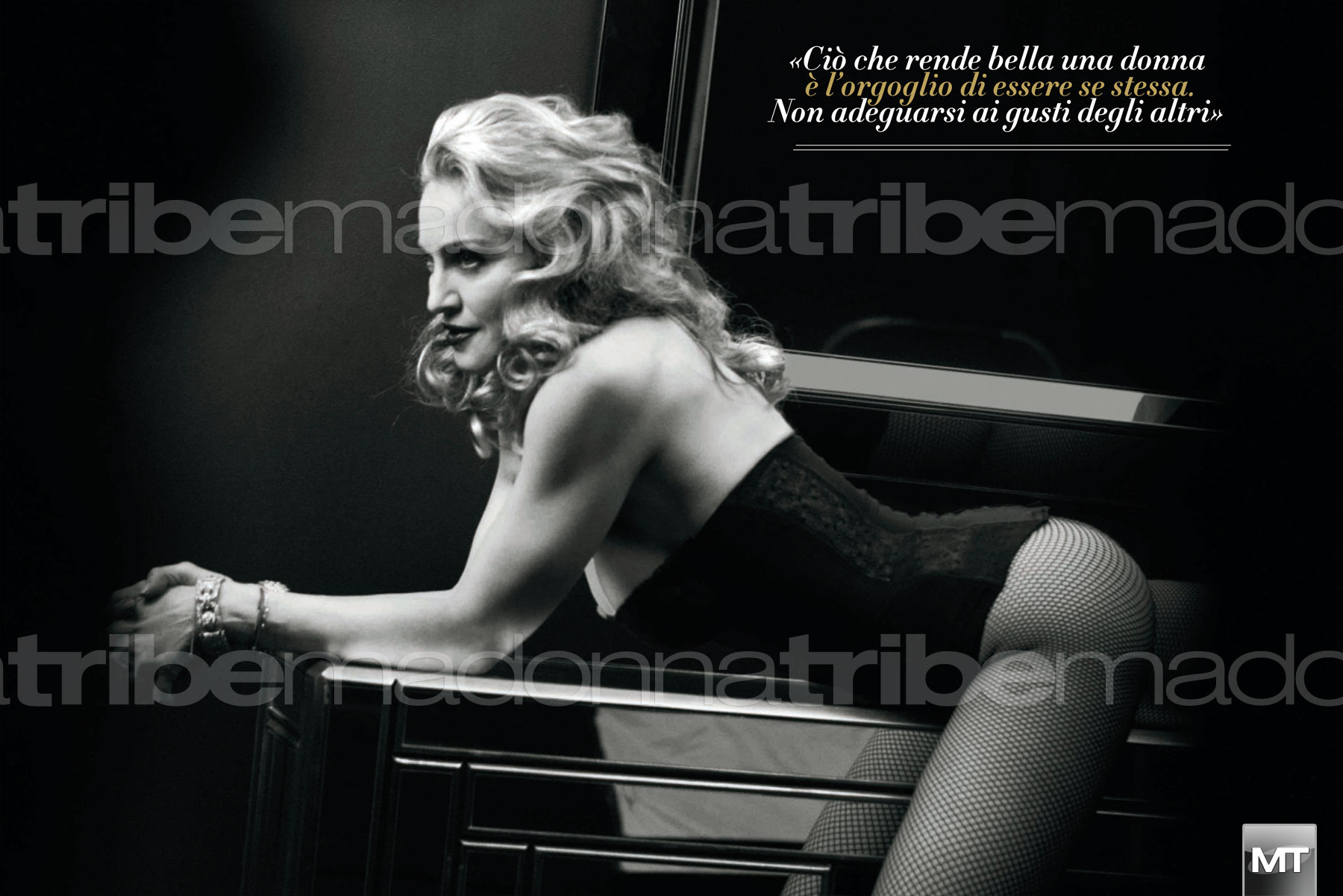 vanityfairitalia 004 Hot Shots:  Madonna Covers Vanity Fair Italia, Drops MDNA Tour Trailer