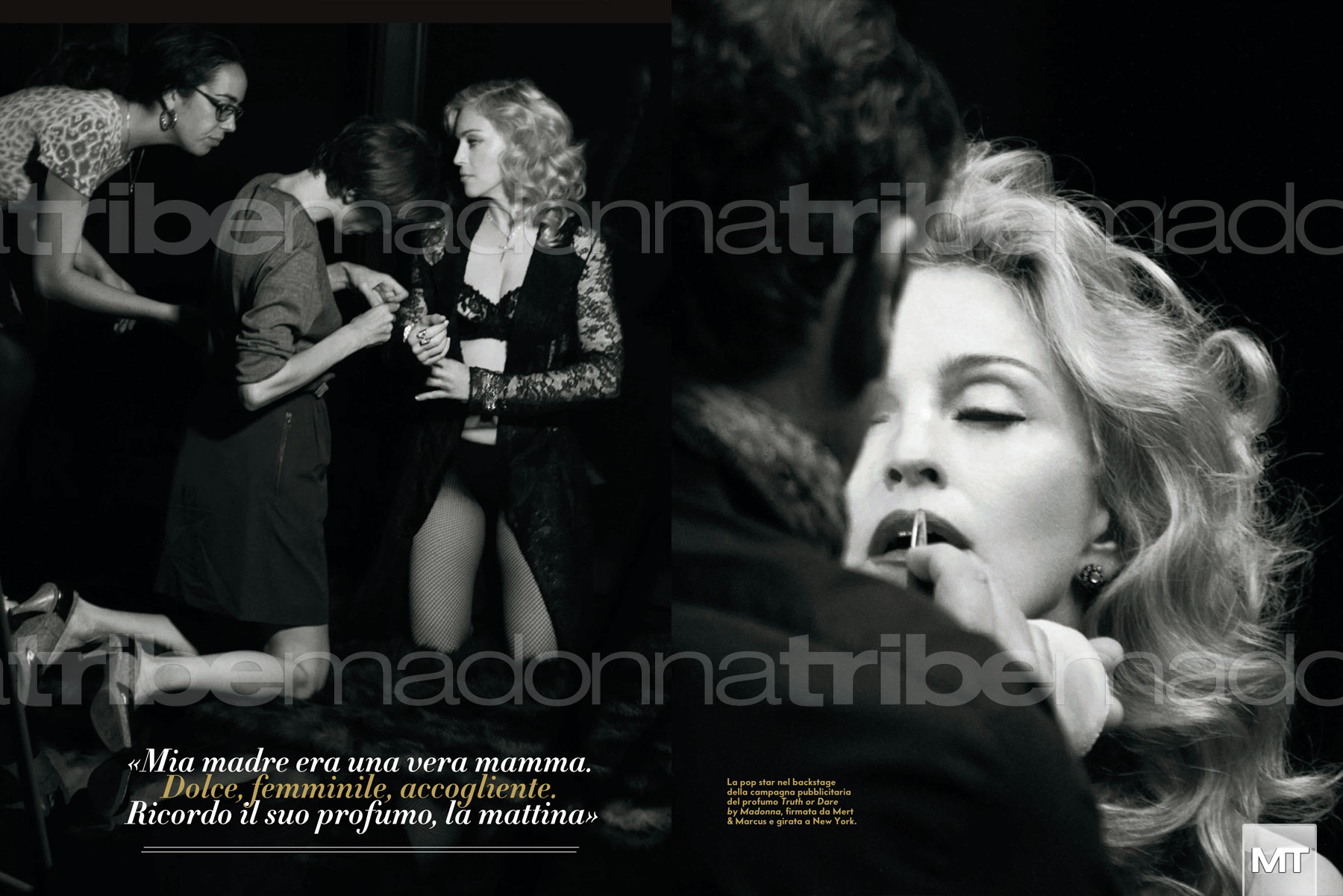 vanityfairitalia 005 Hot Shots:  Madonna Covers Vanity Fair Italia, Drops MDNA Tour Trailer