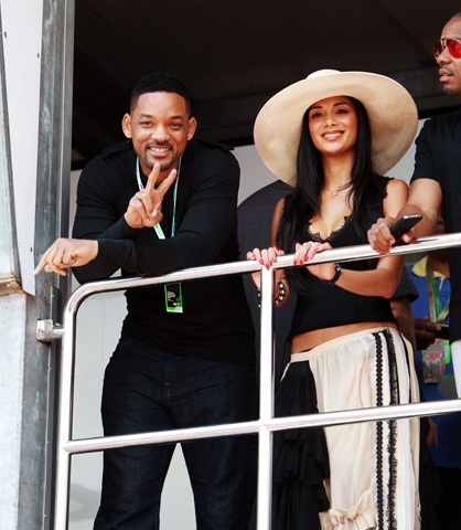 will smith and nicole in monaco Hot Shots: Nicole Scherzinger Enjoys Monaco With Will Smith