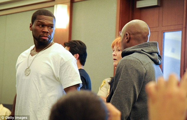 50 Cent Takes Mayweather to jail Hot Shot: 50 Cent Takes Floyd Mayweather To Jail