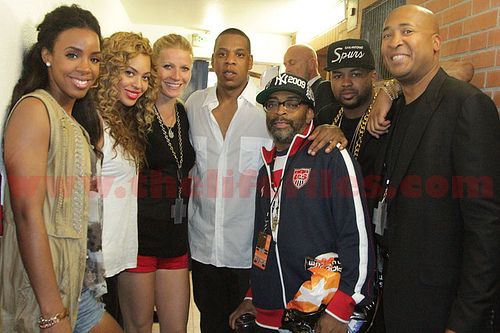 Backstage At Watch The Throne