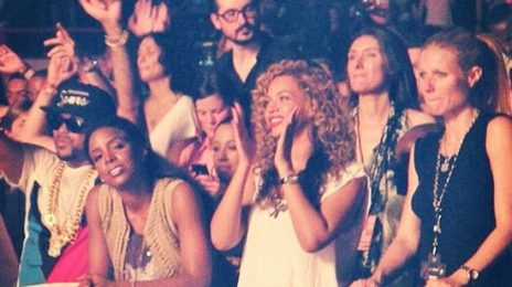 Hot Shots: Beyonce 'Watches The Throne' With A-List Crew