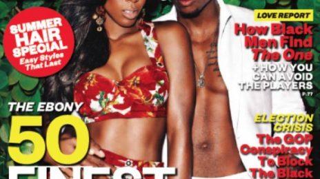 Hot Shot: Kelly Rowland Sizzles On EBONY Cover...With Trey Songz