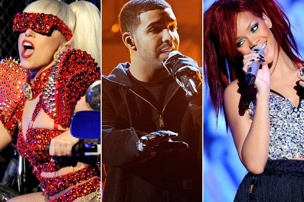 GaGa Drake Rihanna New Music Seminar : Label Execs Debate Rise Of The Music Business