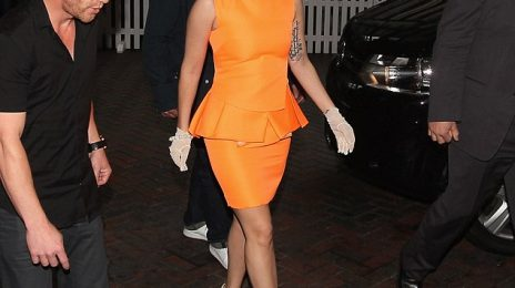 Hot Shots: Lady GaGa Touches Down In Auckland