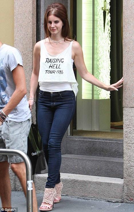 Lana Del Rey Italy