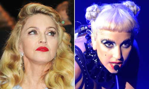 Madonna Lady Gaga Madonna Backs Down / Praises Lady GaGa