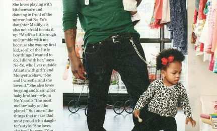 Hot Shot: Ne-Yo Plays Daddy For 'People Magazine'