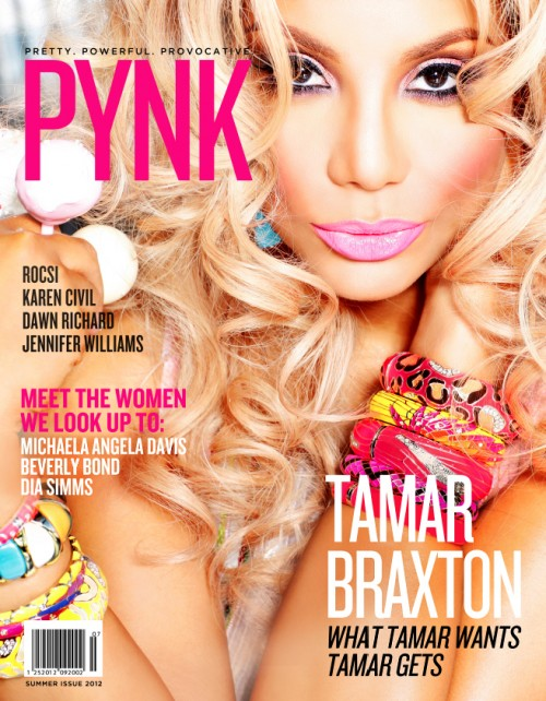 Pynk TamarSummerCover e1340983428986 Hot Shots: Tamar Braxton Pretty In Pynk