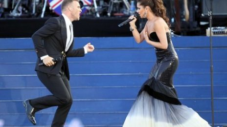 Cheryl Cole Hits Sour Note At Diamond Jubilee Concert