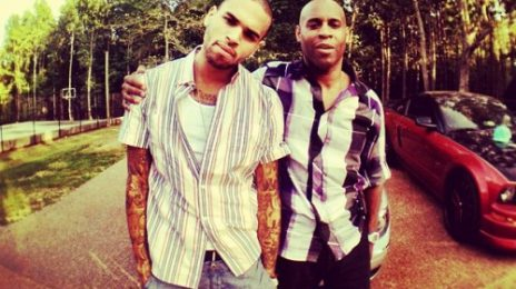 Hot Shot: Chris Brown Celebrates Father's Day With Dad