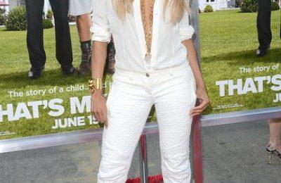Hot Shots: Ciara Diva Dazzles At 'That's My Boy' Premiere
