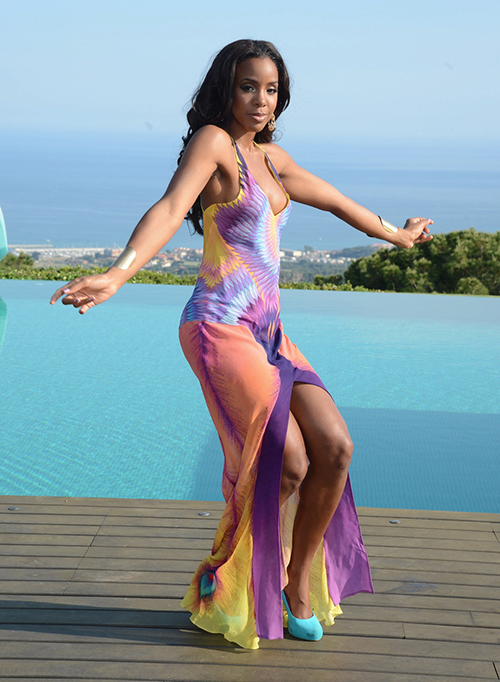 kelly rowland summer dreaming 2 Major: Kelly Rowland Teams With Bacardi / Shoots New Video