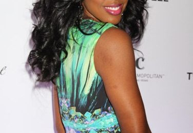 Hot Shots: Kelly Rowland Parties For 'Vegas'